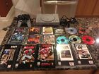 PlayStation One PS1 Console Lot and 17 Game Bundle Marvel Super Heroes Digimon 2