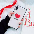 New Bumper Luxury Fashion Tempered Glass Case Cover For iPhone X 7Plus 6s 8Plus
