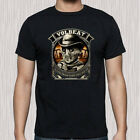 VOLBEAT Heavy Metal Rock Band Tour Logo Men's Black T-Shirt Size S to 3XL image