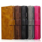 Luxury Magnetic Wallet Card Slots Flip Leather Case Cover For Various Cellphone