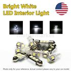 US 10pc Car LED Interior Lights Package White Lamp Kit for 2000-2006 Chevy Tahoe