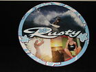 "RUSTY Surf Skate Promo Round Retail Store Display Sign 20"" Large 2 Sided Bikini"