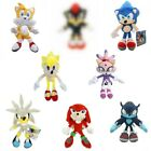 Sonic The Hedgehog Plush Doll Knuckles Tails Shadow Silver the Hedgehog Soft Toy