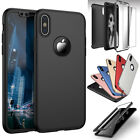 360° Full Body Hard Cover Case +Screen Protector For iPhone 6s 7 8 Plus X 5s SE