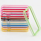 TPU Silicone Frame Bumper Hard Case Cover Skin for iPhone 4G 4S t#