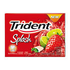Trident Chewing Bubble Gum Sugar Free & Ice Low Calories Mixed Fresh Oral Breath