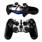 NEW Pair of Vinyl Controller Skins - Ghost Mask Fighting for Playstatio