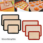 Silicone Non Stick Baking Mat Sheet Tray Oven Liner Rolling Cake Mat Washable