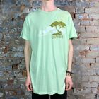 Macbeth Graphic Tee Short Sleeve T-Shirt Green size L