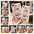 Women Gift Cute Cartoon Flower TPU Animal Case Cover For IPhone X 6s 7 8 Plus