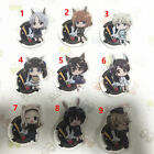 Anime Strike Witches 3 Acrylic Keychain Key Ring Phone Charm Pendant Cat Ear Ver