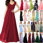 Women Long Lace Evening Dress Formal Cocktail Party Gown Bridesmaid Maxi Dresses