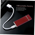 USB Charging Lighter Windproof Rechargeable  Ultra-Thin G-Sensor Lighter Af