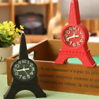Fashion Eiffel Tower Tabletop Alarm Standing Clock Home Office Decor Gift Beamy