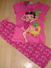 NEW BETTY BOOP LADIES COTTON CROPPED PYJAMAS PJS SIZE  8 10 12 14 16 18 20 £9.99 GBP on eBay