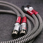 silver cable - High Quality Silver Plated XLR cable Audio XLR balanced interconnect cable