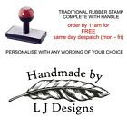 PERSONALISED BESPOKE LEAF HANDMADE CREATED BY RUBBER STAMP CARD MAKING CRAFTS