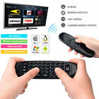 2.4GHz Mini Wireless Air Mouse Keyboard Remote Control With Mic for Smart TV PC