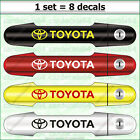 8 X Toyota Door Handle Wheel Decal Sticker Graphics Emblem Logo Design#2 A