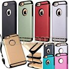 for iphone 6 6s case cover w/ strap holder double layer shockprof  6 / 6 s plus