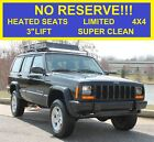 2001+Jeep+Cherokee+NO+RESERVE+144%2C954+LIMITED+HEATED+SEATS+LIFTED+3%22