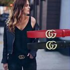 "Fashion accessories for fashionable luxury women Classic cowhide ""GG"" belt PD01"