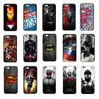 Batman Spider Man Super Hero Soft Rubber Phone Case Cover Fits iPhone Series