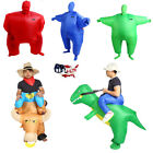 adult funny game - Adult Dinosaur Inflatable Suit Western Fancy Dress Costume Suit Funny Game US