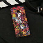 Supreme Couple Colourful Flower Hard Case For iPhone X SE 6 6s 7 8 Plus Samsung
