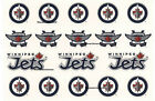 "Winnipeg Jets Sticker Decal Lot Sheet 5.75"" x 5.5"" Licensed Stickers NEW"
