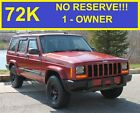 1999+Jeep+Cherokee+NO+RESERVE+72K+1+OWNER+4X4