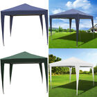 Fold Gazebo 3x3m PopUp Reception Marquee Tent Awning Outdoor Party And Carry Bag