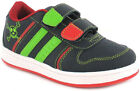 New Boys/Childrens Navy/White Touch Fastening Trainer UK Size
