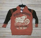 Harely Davidson boys size 5 hoodie