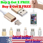 US Magnetic Adapter Charger USB Charging Cable For iPhone 5s 6 6s 7 8 Plus X 0