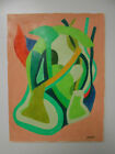 """"""" LOST"""" ORIGINAL SIGNED ABSTRACT PRISMA PENCIL DRAWING."""