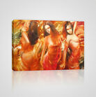 Sensual & Erotic Female Dancer Framed Canvas Print - YC09