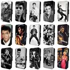 ELVIS PRESLEY THE KING FLIP PHONE CASE COVER for SAMSUNG GALAXY S5 S6 S7 S8 S9