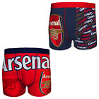 Arsenal FC Official Football Gift 1 Pair Pack Mens Boxer Shorts