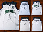 Chino Hills Huskies Basketball Jersey LaMelo Ball LiAngelo Ball Lavar Ball White