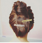 Hair Comb Shaped Hair Clip, Barrette - Hairdresser, Stylist