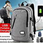Fashion Bag Business Polyester Laptop Backpack with USB Charging Charge Port Hot
