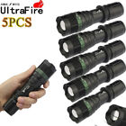 Ultrafire 20000Lumen T6 LED Flashlight Torch Lamp Tactical Zoomable Fit 18650,
