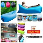 Air Bed Sofa Inflatable Camping Couch Lounger Double Lazy Sleeping Pump New Bag