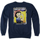 BETTY BOOP POWER Licensed Adult Pullover Crewneck Sweatshirt SM-3XL $35.96 USD on eBay