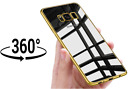 ShockProof 360 Hybrid Chrome Case With TPU Front For Samsung Galaxy S8 S9 PLUS