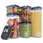 Royal Air-Tight Food Storage Container Set-Durable Plastic-BPA Free