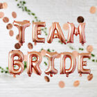 Rose Gold Foil Balloons Hens Party Bachelorette Night Bride To Be Wedding Decor