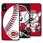 Cincinnati Reds Baseball Silicone Cover Case for iPhone 6 7 8 X Samsung Galaxy