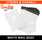 White All Sizes 60mu Mailing Bags Postal Postage Mail Strong Self Seal XL Large